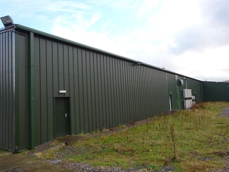 Factory Extension South Wales