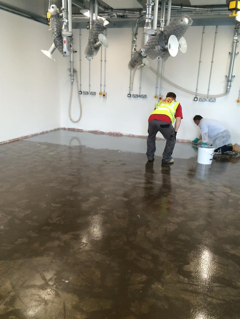 Self leveling South Wales