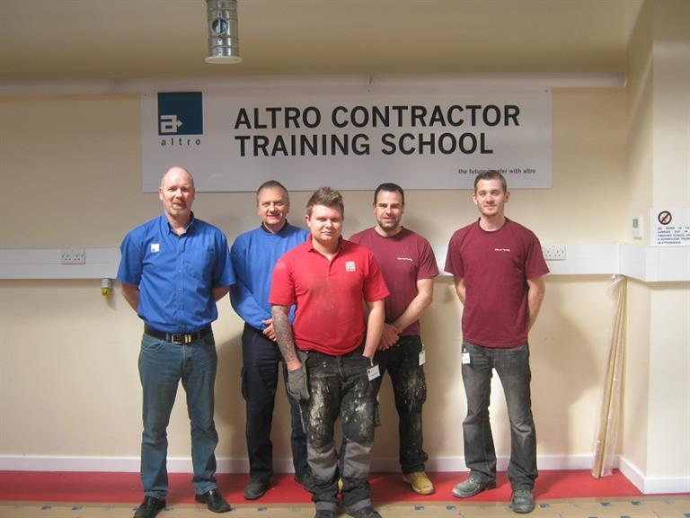 Martyn & Dale at Altro Whiterock Training